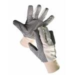 Перчатки шитые с ПВХ точками Osprey