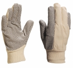 СР149 sewn gloves with PVC dots