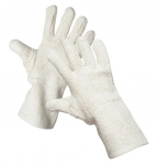 Lupving terry cotton sewn gloves