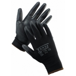 Black Evolution polyurethane coated gloves