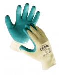 Dipper foamy latex coated gloves 1