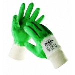 Coot latex coated gloves