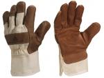 Перчатки кожаные комбинированные DR605