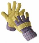 Перчатки кожаные комбинированные Serin