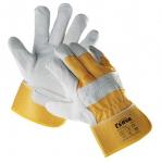 Перчатки кожаные комбинированные Eider