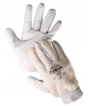Pelican goatskin gloves