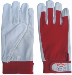 Flexy pig grain leather gloves