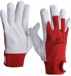 Перчатки кожаные комбинированные Flexy
