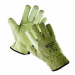 Heron pig leather gloves