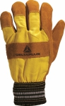 DF132 lined leather docker gloves