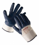 Ruff nitrile coated gloves