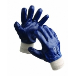 Roller nitrile coated gloves