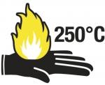 Venicut52 cut & heat resistant latex coated gloves 2