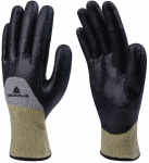 Venicut54 cut 5 + heat resistant nitrile coated gloves