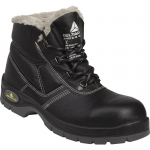 Fur lined S3 work boots