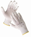 Lark gloves with PU fingertips