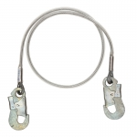 Metal wire lanyard with K20 hooks