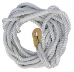 Braided rope lifeline