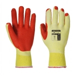A135 latex coated gloves