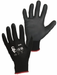 BRITA BLACK PU coated gloves
